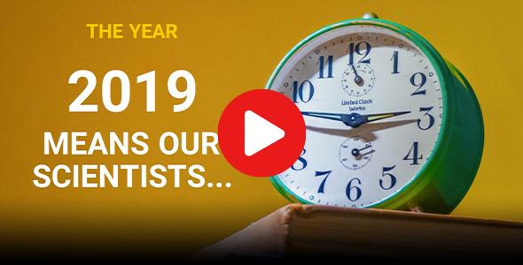 Year in science 2019 recap video