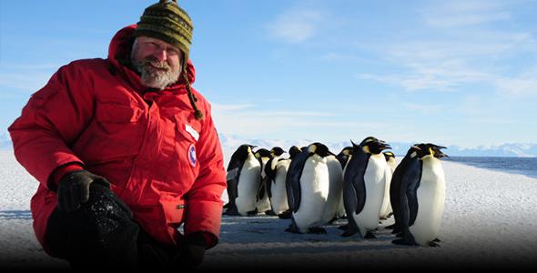 Biologis Dan Costa in Antarctica with Emperor Penguins.png