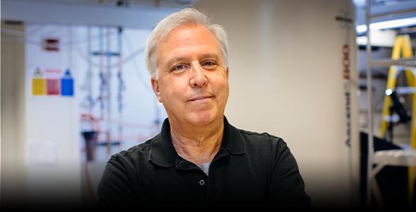 Biochemist Glenn Millhauser