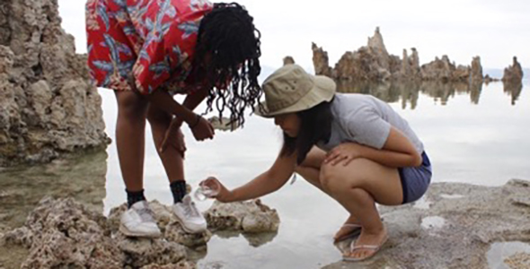 Learning in nature boosts feelings of scientific competence, and it helps build a sense of belonging and a sense of community--key factors that help retain diversity in STEM fields.
