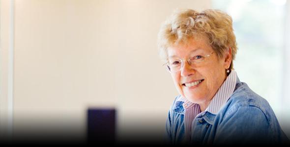 Astronomer Sandra Faber