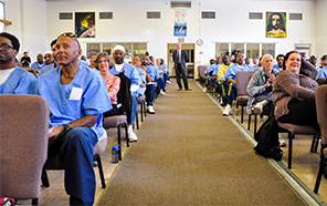Lecture at San Quentin State Prison