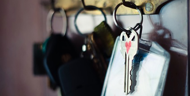 Image of lost keys