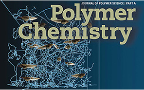 Cover of Polymer Chemistry journal