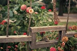 "Image of ""Solitary Garden"" artwork on the UC Santa Cruz campus"