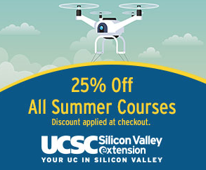 25% Summer Offer at UCSC Silicon Valley Extension