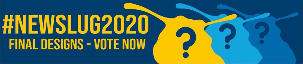 ##NewSlug2020 Final Designs – Vote Now banner