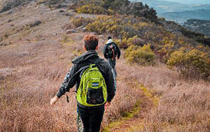 An Adventure Rec day hike brings explorers to new frontiers. (Photo by Gus Koshy)