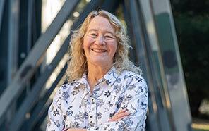 Biologist and Nobel laureate Carol Greider (photo by Carolyn Lagattuta)