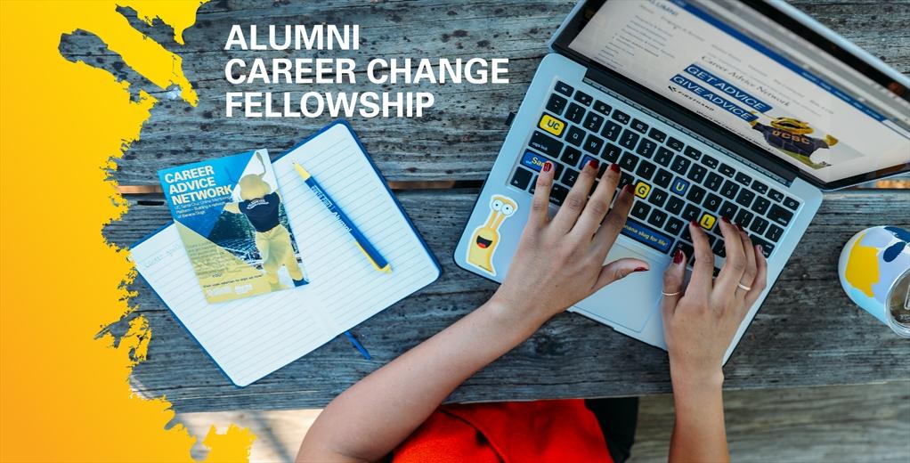 Alumni Career Change Fellowship banner